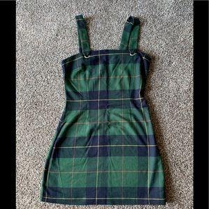 Plaid holiday dress